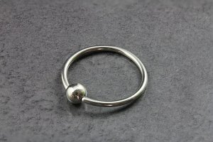 Plain Captive Bead Ring