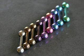 Pure Titanium Straight Bar
