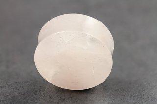 Rose Quartz Stone Plugs