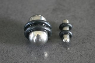 Rounded Solid Steel Plugs
