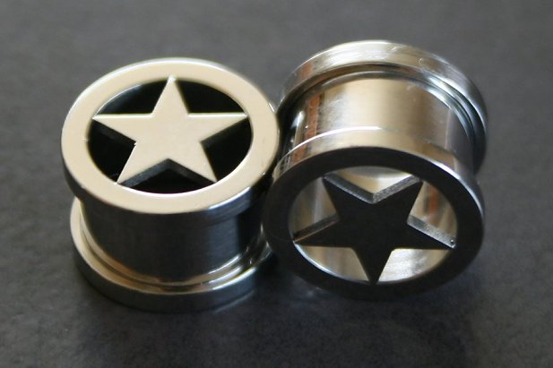 Silver Star Threaded Tunnel