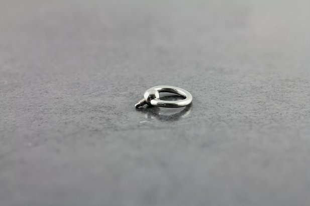 Slave Captive Bead Ring for Dermal Anchors