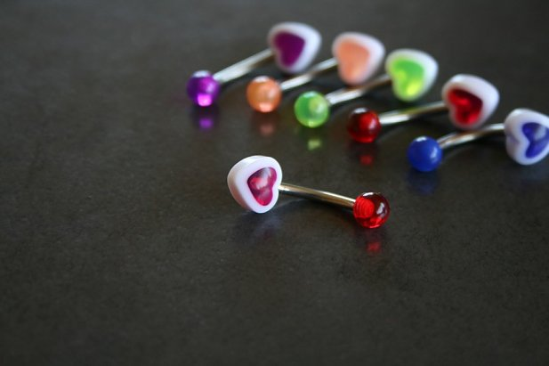 Smooth Heart Belly Ring