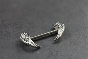 Split Wing Nipple Bar