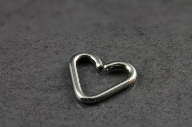Stainless Steel Heart