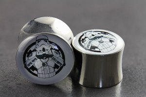 Star Wars Storm Trooper Plugs