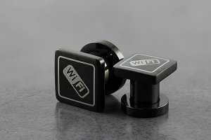 Steel PVD Coated WIFI Plugs