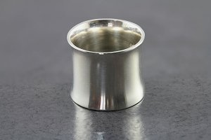 Sterling Silver Flared Tunnel