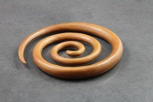 Wooden Spirals